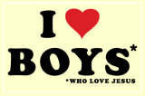 I Love Boys Posters