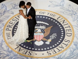 President Obama and the First Lady - Reprodüksiyon
