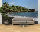 Surf on the Beach, Black Sand Beach, Maui, Hawaii, USA Wall Mural – Large