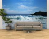 Crashing Waves at Isla Navadad Resort in Manzanillo, Colima, Mexico Wall Mural – Large