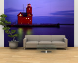 Big Red Lighthouse, Holland, Michigan, USA Wall Mural – Large