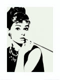 Audrey Hepburn: Cigarillo Prints