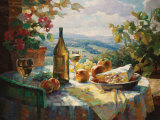 Chardonnay Affiche par Leon Roulette