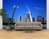 Skyline, St. Louis, MO, USA Wall Mural  Large
