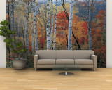Fall Trees, Shinhodaka, Gifu, Japan Wall Mural – Large