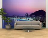 Copacabana Beach, Rio De Janeiro, Brazil Wall Mural – Large