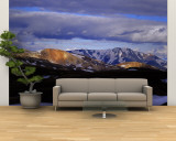 Clouds over Snowcapped Mountains, Fjallabak, Central Highlands, Iceland Wall Mural – Large