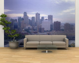 Buildings in a City, Minneapolis, Minnesota, USA Wall Mural – Large