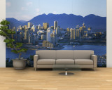 Skyscrapers at the Waterfront, Vancouver, British Columbia, Canada Wall Mural – Large