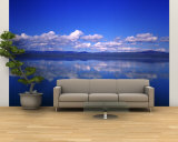 Reflection of Clouds in Water, OlfUSA, Iceland Wall Mural – Large