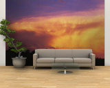 Clouds at Dusk, Douglas County, Colorado, USA Wall Mural – Large