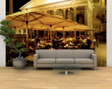 Cafe, Pantheon, Rome Italy Wall Mural – Large