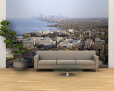 City at the Coast with Chicago in the Background, Evanston, Illinois, USA Wall Mural – Large