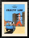 Objectif Lune, ca.1953 Plakater af Hergé (Georges Rémi)