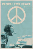 John Lennon&#160; People for Peace Kunstdrucke