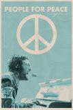 """John Lennon – Folk för fred, """"People for Peace"""" Affischer"""