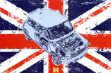 Haynes - Mini Union Jack Posters