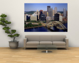 Pittsburgh, Pennsylvania, USA Wall Mural
