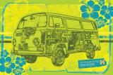Haynes - V.W. Camper Posters