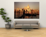 Gondolas in a Canal, Venice, Italy Wall Mural