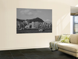 Cityscape, China Sea, Hong Kong, China Wall Mural