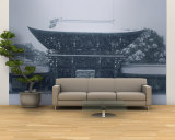 Entrance of a Temple, Tokyo Prefecture, Japan Wall Mural – Large