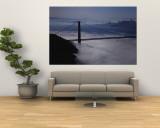 Fog over Golden Gate Bridge, San Francisco, California, USA Wall Mural