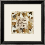 Live Well, Love Much, Laugh Often Prints by Lauren Hallam
