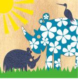 Rhino Family Prints by  Z Studio