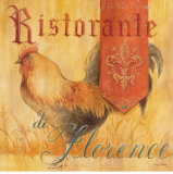Ristorante Poster by Angela Staehling