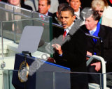 Barack Obama Inaugural Address Photo