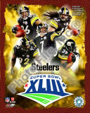 NFL 2008 Pittsburgh Steelers Superbowl Big 5 Photo