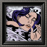 Drowning Girl Print by Roy Lichtenstein