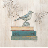 Aviary Library Print by Arnie Fisk
