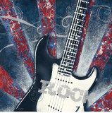 Guitare de rock Affiches par Sam Appleman