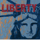 Liberty Reigns Poster by Sam Appleman
