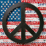 American Flag Peace Sign Poster by Aaron Foster