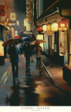 Night Lanterns Prints by Carol Jessen