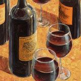 Dégustation de vin I Posters par Karen Emory