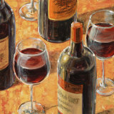 Wine Tasting II Prints by Karen Emory