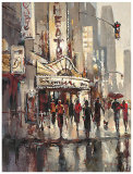 City Scene Posters by Brent Heighton