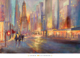 End of the Day Prints by John Allinson