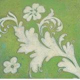 Green Flourish Poster von Hope Smith