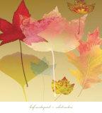 Leaf Counterpoint Plakat af Robert Mertens