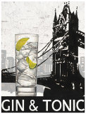 Gin and Tonic Destination Print by Marco Fabiano