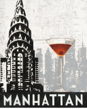 Manhattan Destination Posters par Marco Fabiano