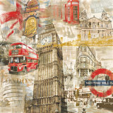 In London Print by Tyler Burke