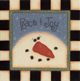 Peace and Joy Posters van Sue Allemend