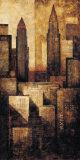 New York Dusk II Poster von G.p. Mepas