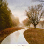 Autumn Path Prints by Sally Wetherby